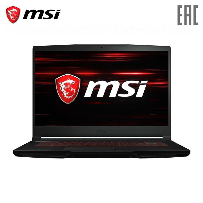 "Laptop gaming MSI GF63 9RCX 889XRU 15 6 ""FHD 60Hz Intel i7 9750H 8 GB 512 GB  SSD GTX 1050 Ti 4 GB"