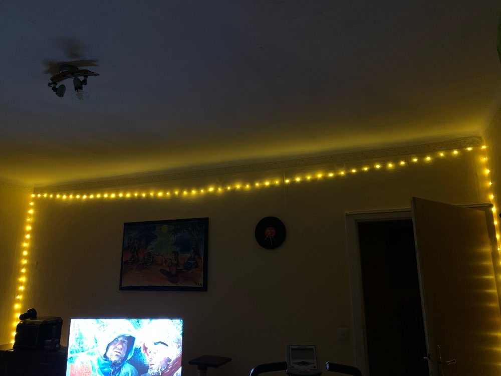 LED String Light Silver Wire photo review
