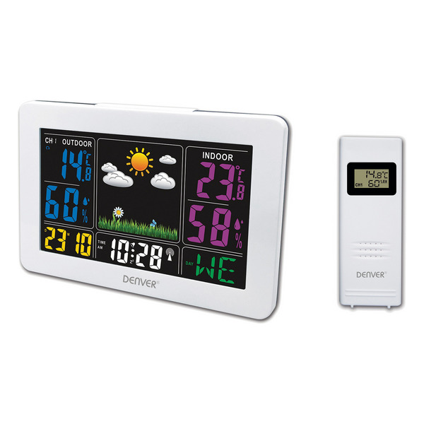 Multi-function Weather Station Denver Electronics WS-540 White