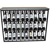 Flasche rack Eisen (120X34x94 cm) auf