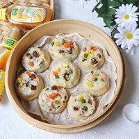 #太太乐鲜鸡汁芝麻香油#腊肠糯米烧卖的做法图解13