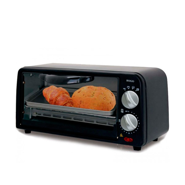Mini Electric Oven Sogo SS-10305 650W Black