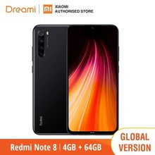 Global Versão Xiaomi Redmi Note 8 64GB ROM 4GB RAM (MAIS RECENTE CHEGADA!), note8 64gb