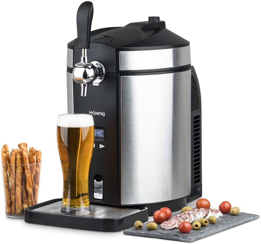 H. Koenig's Dispenser BW1880 Beer Compatible With Universal No Pressurized Barrels Stainless Steel 5L
