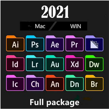[Dernière] Adobe CC - 2021 Win 10 / Mac - Photoshop, illustrateur, Nach effets, premiere Pro, InDesign, lighroom ..