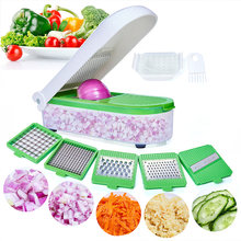 Vegetable Chopper Dicer Kitchen Accessories Mandoline Slicer Cutter Potato Cheese Carrot Grater Fruit Peeler Kitchen Tool
