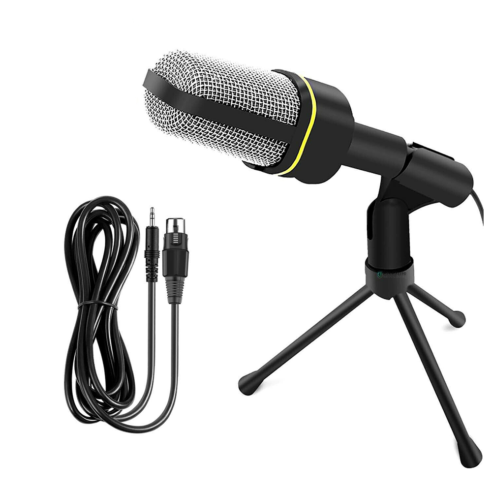 Capacitor Microphone For Lectures And Recordings With Stand Andowl QY-920