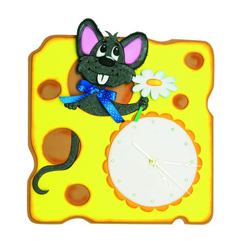 Set for creativity clock Mouse magic workshop chf-07