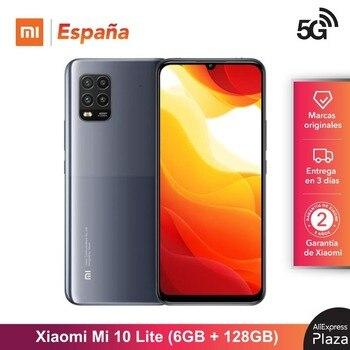 Купить Xiaomi Mi 10 Lite 5G (Memoria interna de 128 ГБ, RAM de 6 ГБ, Android, Nuevo, Libre) [Teléfono Movil Versión G