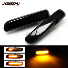For BMW 3 Series E46 Sedan Coupe Wagon Convertible 1997 2001 Led Dynamic Turn Signal Light Side Fender Marker Sequential Lamp