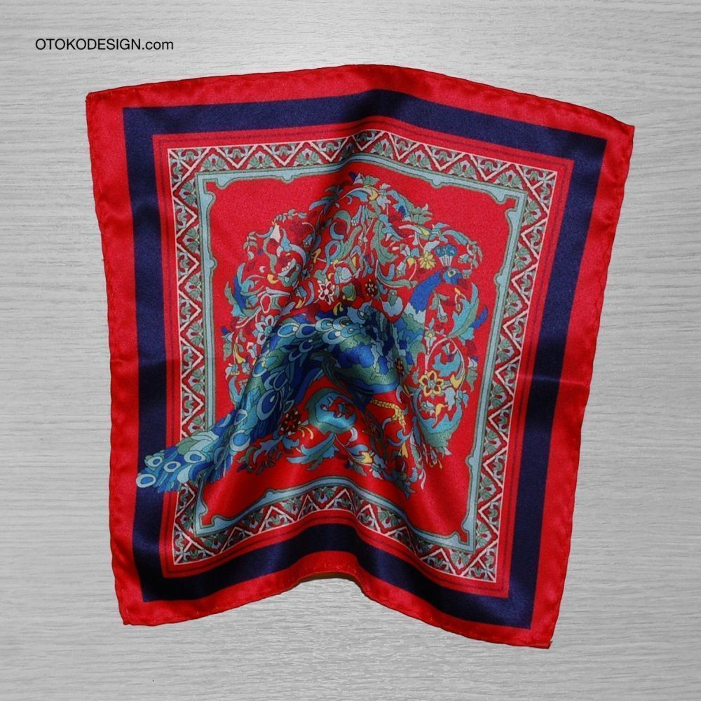 Red Pocket Square (50198)