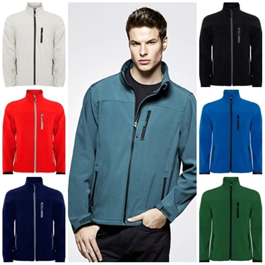 Jacket men Soft Shell compound by 2 layers. Antarctica