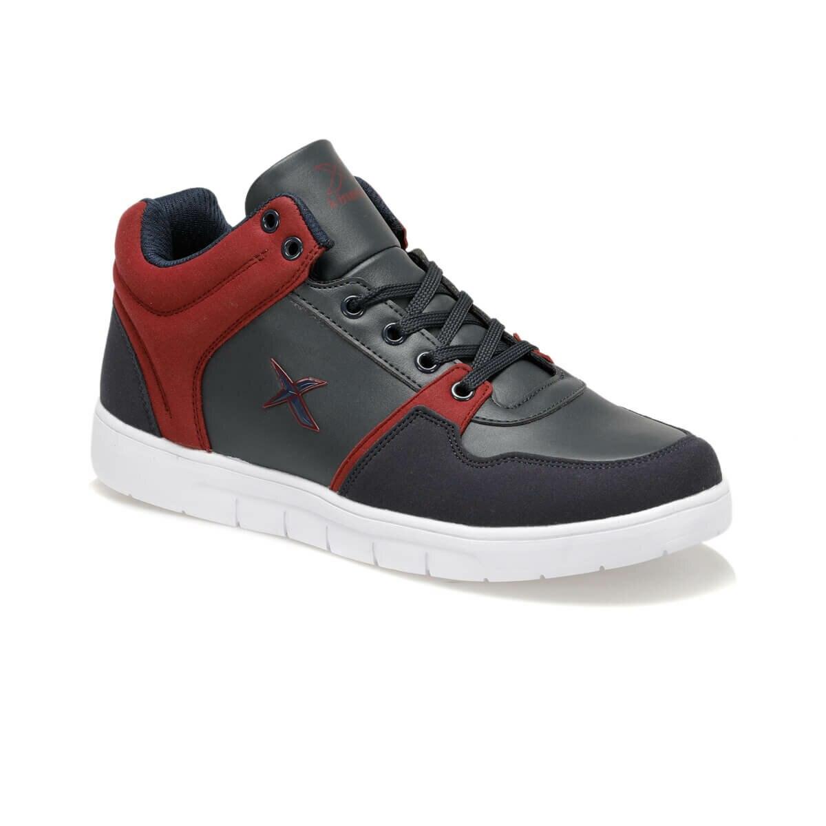 FLO ASGAR HI 9PR Navy Blue Men 'S Sneaker Shoes KINETIX