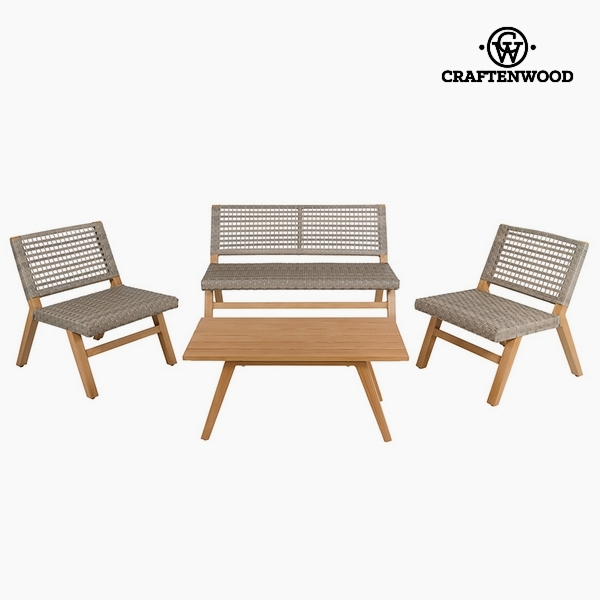 Garden Furniture (4 Pcs) Resin