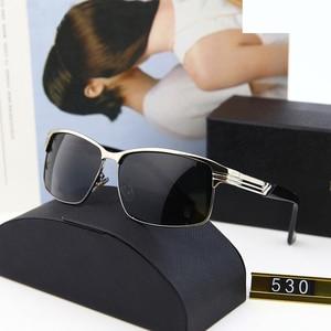 Brand Classic Men Square Sunglasses Blac