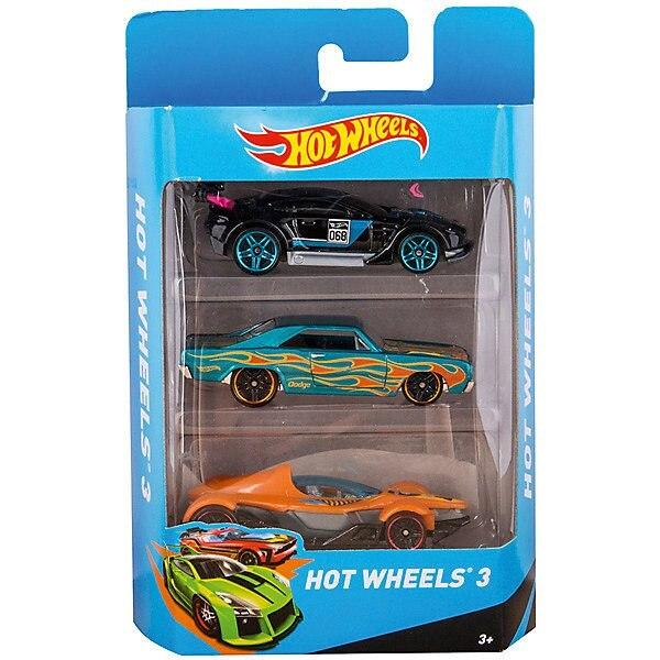 Hot Wheels Presente conjunto de máquinas 3