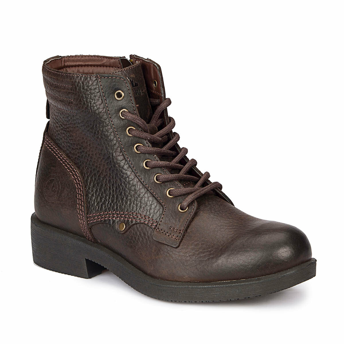 FLO FRORE Dark Coffee Men Boots LUMBERJACK