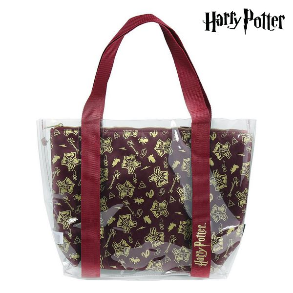 Bag Harry Potter 72898 Transparent Maroon