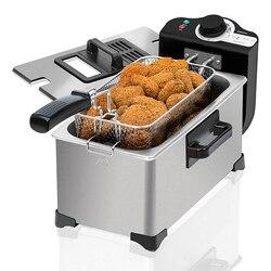Frytownica do głębokiego tłuszczu Cecotec Cleanfry 3L 2000W ze stali nierdzewnej|Elektryczne frytownice|   -