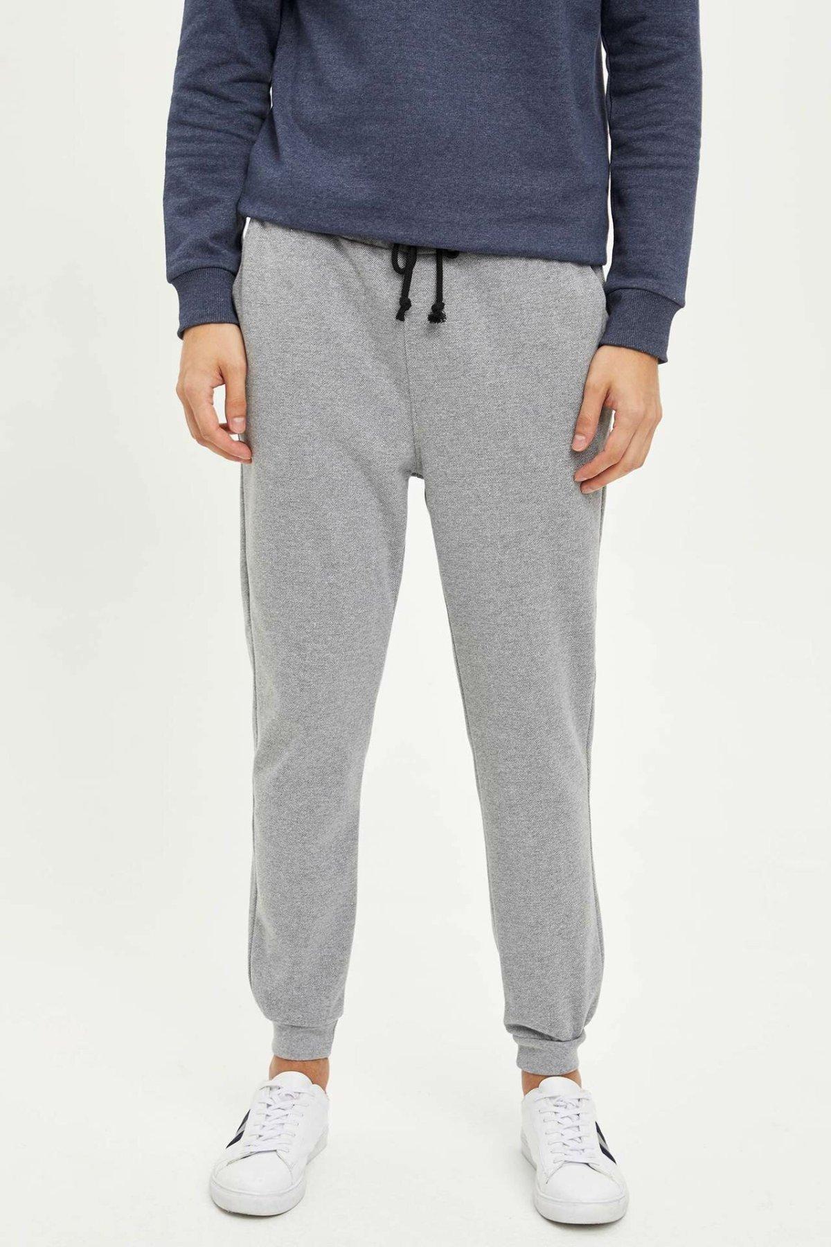 DeFacto Man Fashion Slim Fit Jogger Pants Casual Drawstring Sport Trousers For Men's Casual Loose Sweatpants Male - L5613AZ19AU