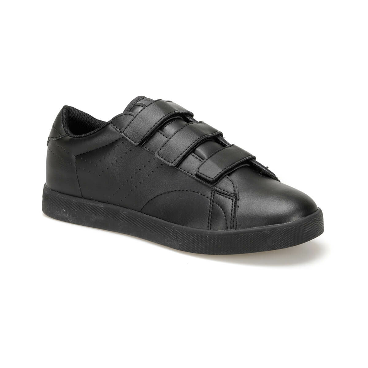 FLO SUPREM VELCRO M Black Men 'S Sneaker Shoes KINETIX