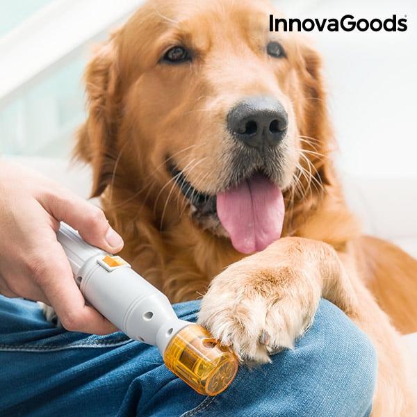 InnovaGoods Electric Pedicure Pet Pet Nail Grinder Dog Nail Grinder Dog Grooming Dog Nail Clippers Pet Nail Trimmer