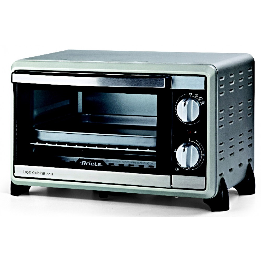 Mini oven Ariete 970 in (1000 W, 10l, the temperature from 0 to 230 degrees, case material-metal)