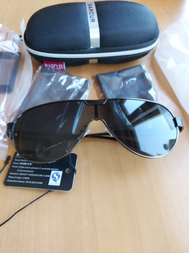 <strong>BARCUR Hercules</strong> - Sports & Driving Polarized Sunglasses For Men & Women photo review