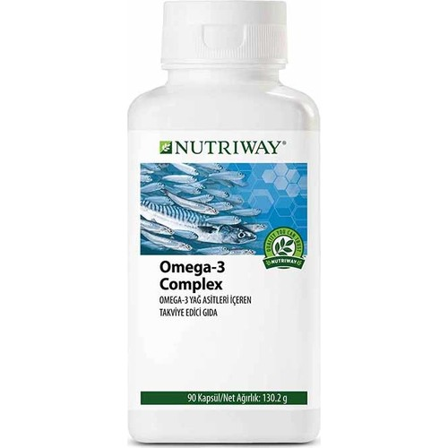 NUTRIWAY® Omega-3 Complex – 90 Capsules Amway Multivitamin Multimineral Dietary Supplement