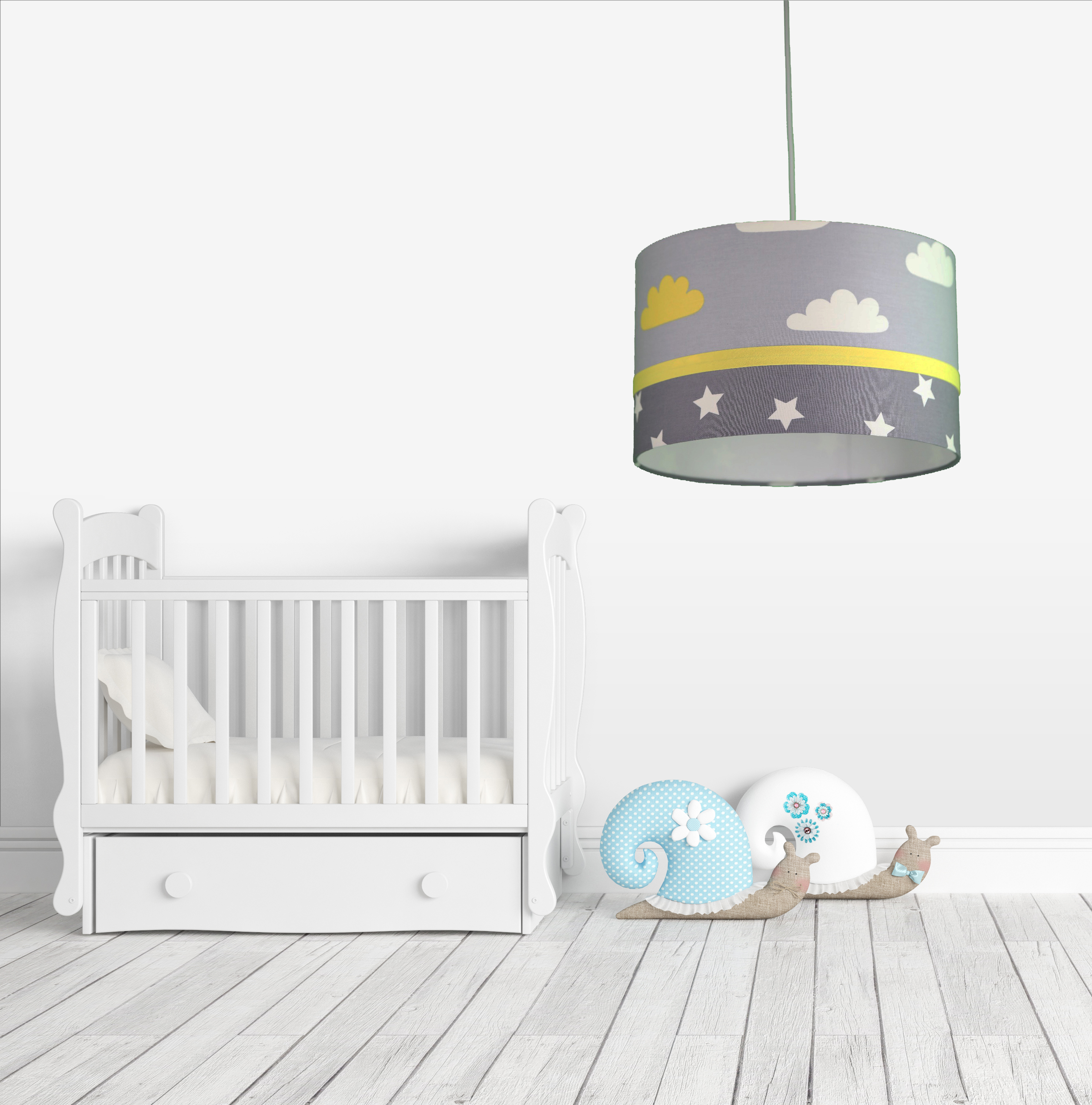 Child And Baby Room Chandelier Lamp With Cloud And Star Pattern Chandeliers Aliexpress