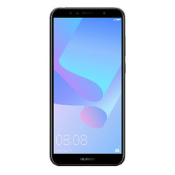 Huawei Y6 (2018) 2 ГБ/16 ГБ Черный с двумя SIM-картами