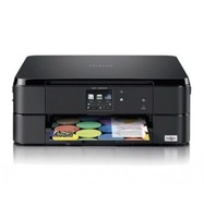 EQUIPMENT MULTIFUNCTION BROTHER DCP J562DW 12PPM/6PPM COPIER SCANNER PRINTER INJECTION INK COLOR