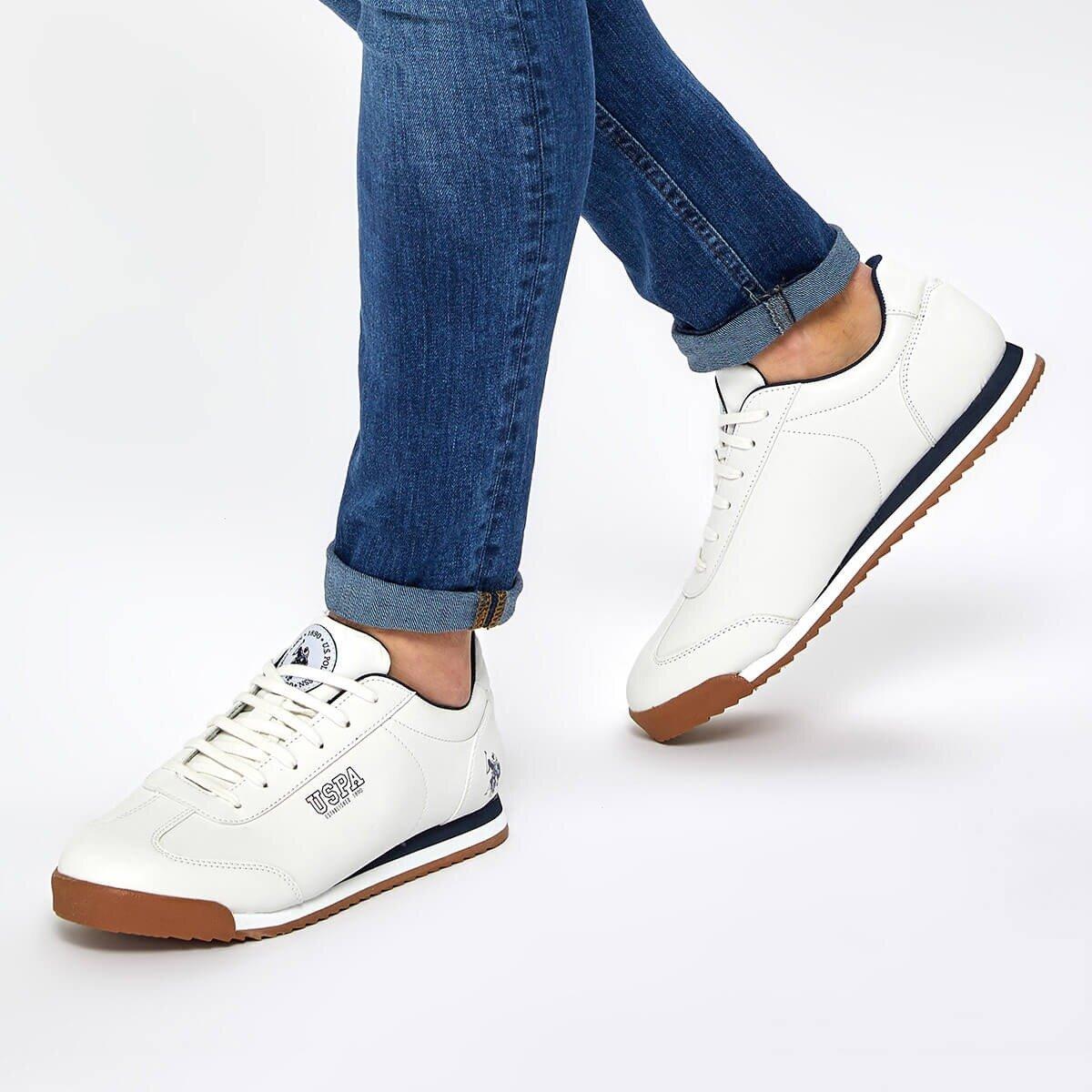 FLO DEEP 9PR White Men 'S Sneaker Shoes U.S. POLO ASSN.