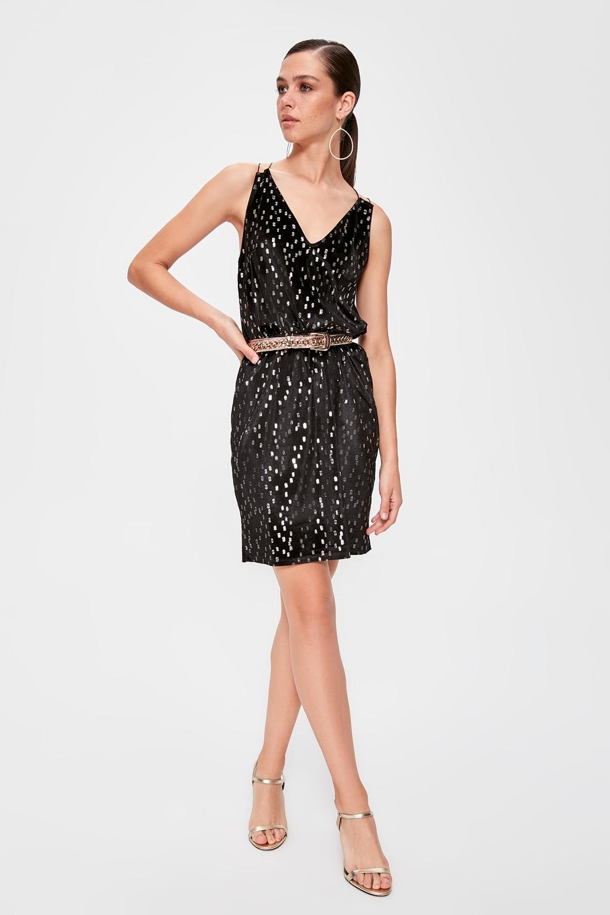 Trendyol Patterned Dress TPRAW20EL1569