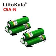 Liitokala البطارية الأصلية 18650 VTC5A 2600mAh 3.6 فولت عالية استنزاف 40A بطارية ليثيوم أيون ل vape E السجائر مصباح يدوي US186