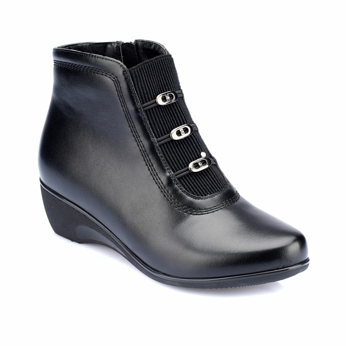 FLO 82.150401.Z Black Women Boots Polaris