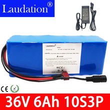 36v battery 10S 3P 36V 6ah 350W High Power and Capacity 42V  18650 pack Motorcycle Electric Car Bicycle Scooter with BMS