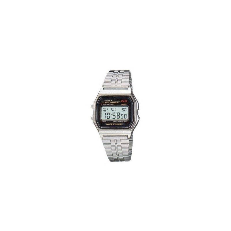 CASIO Watch Retro Vintage Silver A159 Official