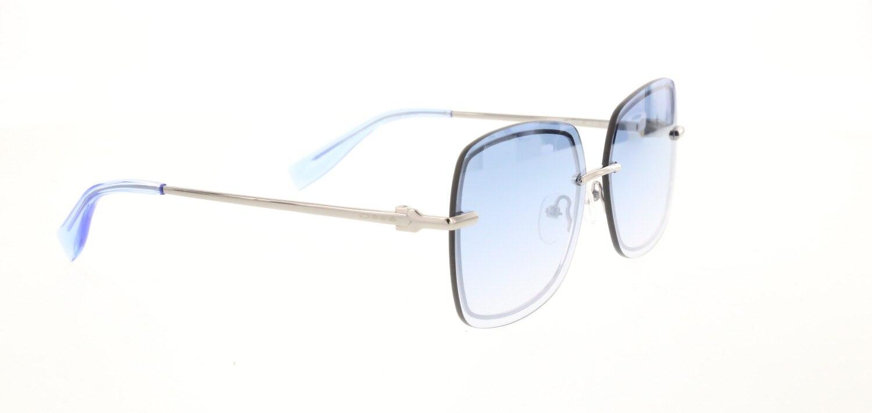 Women's sunglasses os 2879 03 metal silver organic rectangle rectangular 60-13-135 osse