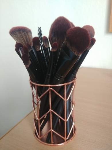 Jessup New Arrival Makeup brushes brushes Phantom Black 3-21pcs Foundation brush Powder Concealer Eyeshadow Synthetic hair reviews №1 177773