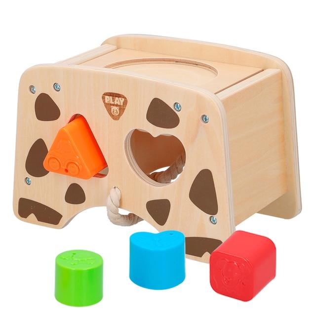 Domek zamówienie dziecko drewno z zajęciami PlayGo