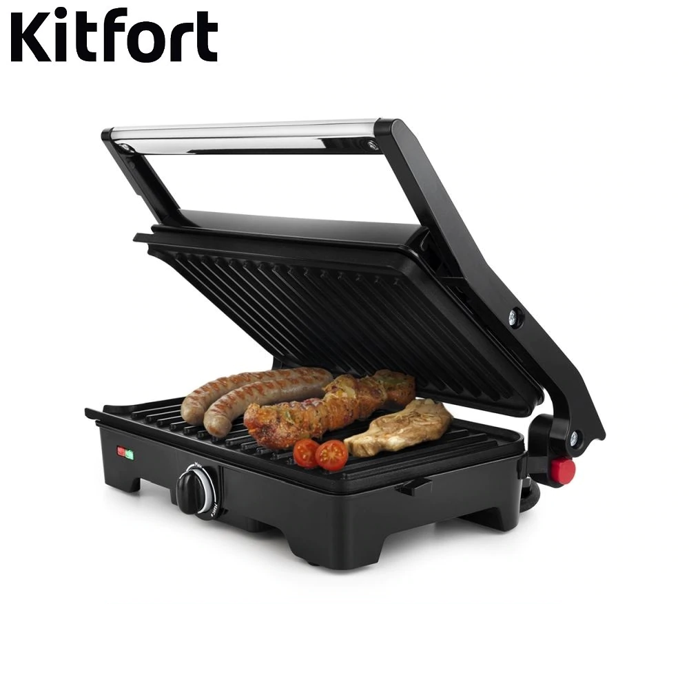 Grill Kitfort KT-1645 Electrical Grill home kitchen appliances Lazy barbecue Grill electric