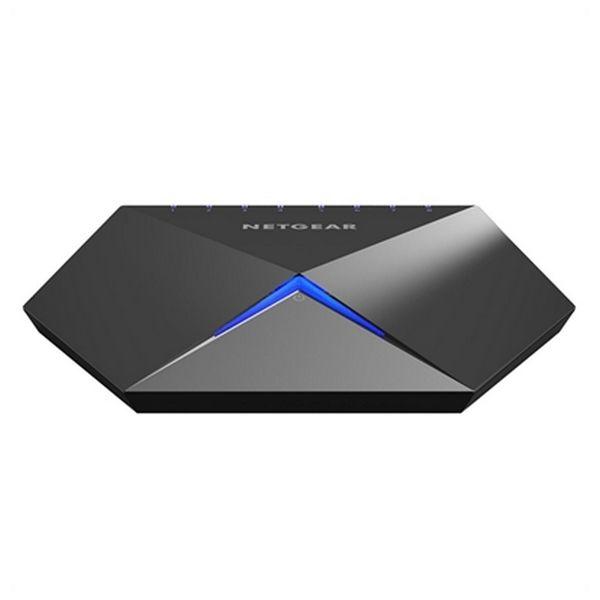 Desktop Switch Netgear GS808E-100PES LAN Black (8 Ports)