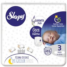 Sleepy Night Panties Pajamas Patterned Good Night Series 3-4-5-6 Number. Pure, Natural And Organic