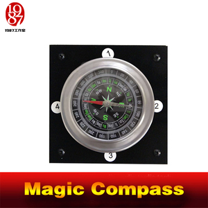 Image 1 - magic compass adventurer escape room game device prop forTakagism get hidden clues via compass to run out real life room escape