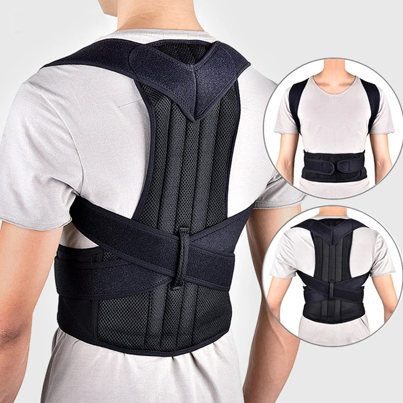 Adjustable Back Trainer Posture Corrector back support Posture Brace Clavicle Support Stop Slouching and Hunching Unisex