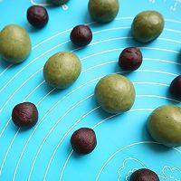 抹茶红豆巧克力麻薯的做法图解9