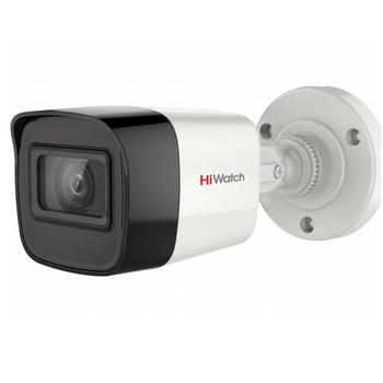 HiWatch DS T500A - Outdoor Bullet HD-TVI camera with mic, 5Mp, HD TVI 5Mp, 1944p camera, security camera, hd camera, cctv camera system, outdoor camera, analog camera, 1080p full hd camera, AHD camera, CVI camera фото