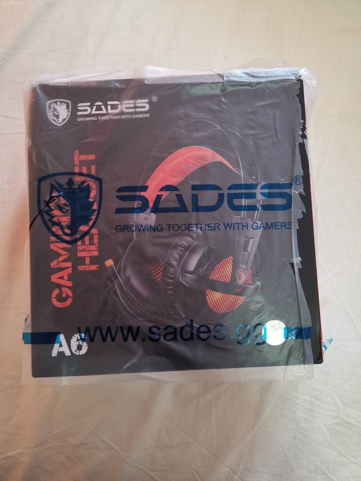 SADES A6 USB 7.1 Stereo wired gaming headphones game headset over ear with mic Voice control for laptop computer gamer|headset over ear|sades a6|game headset - AliExpress