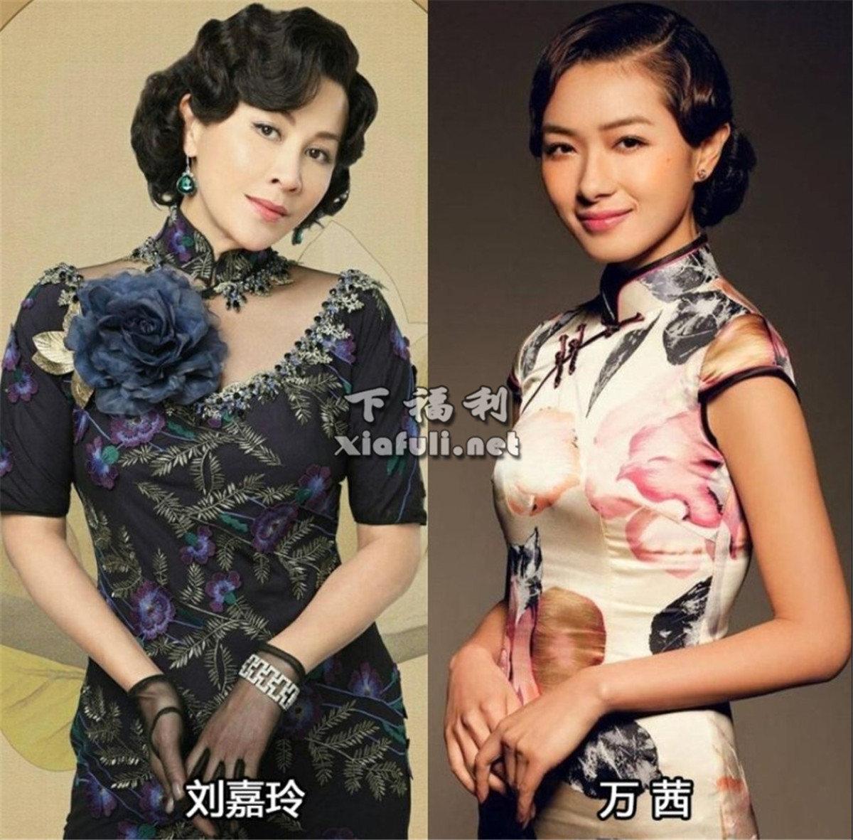 当娱乐圈女星穿上旗袍,你觉得谁最好看 ?插图15